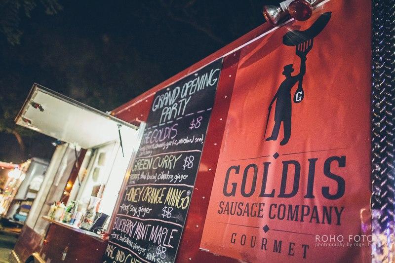 Goldis Sausage Food Trailer